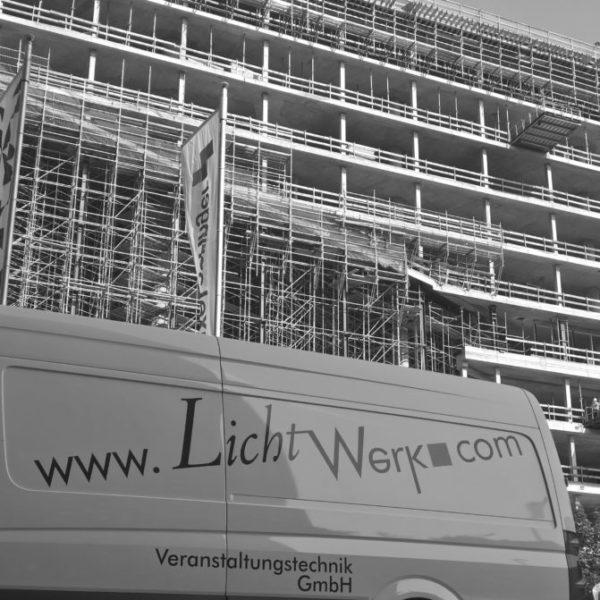 Richtfest Axel Springer Neubau